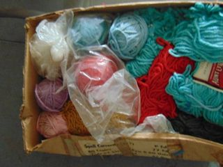 lot of yarn  various