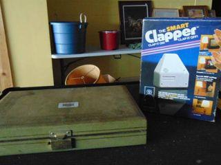 Jewelry box  vintage costume jewelry  clapper