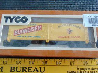 Tyco HO Budweiser Beer Car