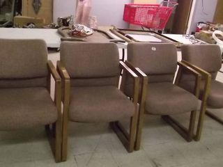 wood framed upholstered chairs
