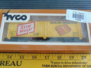 Tyco HO Oscar Meyer Refrigerator Car