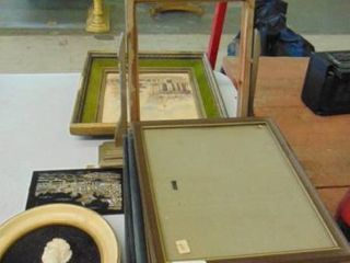 lot of various frames and pictures