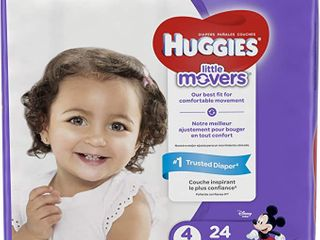 Huggies little Movers Diapers   Size 3   48 Pack