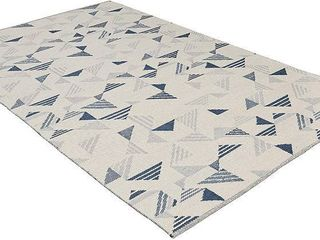 Triangle Design Area Rug