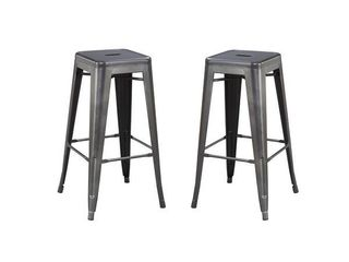 Carbon loft Bengt Bar Stools   Set of 2