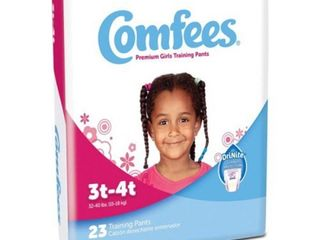 Attends Comfees Girls Training Pants   3T 4T   23 Pack