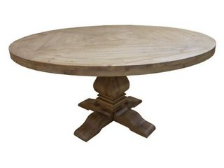 As Is   Donny Osmond Home Florence Dining Table Top  Top only does not include stand
