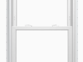 As Is   ThermaStar by Pella 36 in x 54 in x 4 5 in Jamb Vinyl New Construction White Double Hung Window