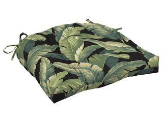 2pk Cebu Wicker Chair Cushions Onyx   Arden Selections