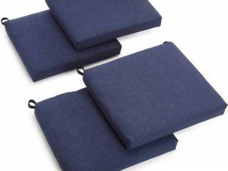 Blazing Needles 20 inch Indoor Outdoor Chair Cushion  Set of 4  Retail 85 99