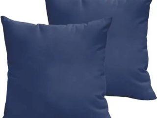Sloane Marine 20 x 20 inch Indoor  Outdoor Knife Edge Pillow Set of 2