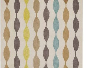 Rizzy Home Gillespie Avenue New Zealand Wool Hand tufted Accent Rug  8  x 10