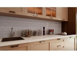 Giorbello light Grey Ceramic 3x6 Subway Tiles  Case of 10 75 Sq Ft  As Is