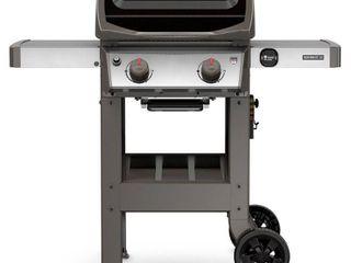 Weber Spirit II E 210 Propane Gas Grill  Black  399 99