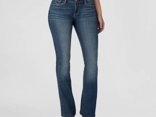 DENIZEN from levi s Women s Mid Rise Bootcut Jeans Celestial 6 Short
