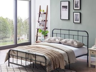 Berthoud Industrial Bed Frame by Christopher Knight Home Retail 269 99