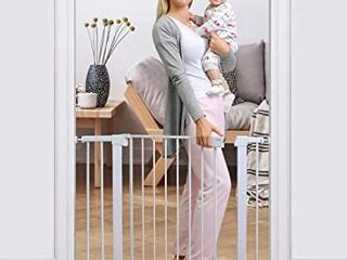 Cumbor White Baby Safety Gate