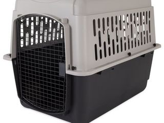 Doskocil Pet Taxi Dog Carrier  Gray Black  large  36 l