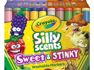 Crayola Silly Scents Sweet   Stinky Markers  20 Count