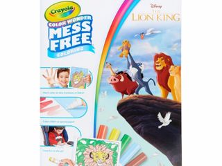 Crayola Color Wonder Foldalope Coloring Book   The lion King