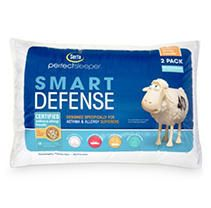 Serta Perfect Sleeper Standard Queen Bed Pillows 300 Thread Count Recycled   2 Pack