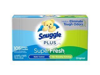 Snuggle Plus SuperFresh Dryer Sheets