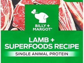 Billy   Margot lamb   Superfood Blend Single Animal Protein Grain Free Dog Food