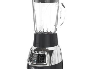 BlACK DECKER Quiet Blender with CycloneAr Glass Jar  Bl1400DG P