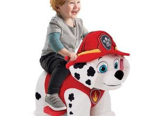 Nick Jr  PAW Patrol Marshall 6V Plush Ride On Toy for Toddlers by Huffy