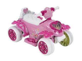 Disney Princess Electric Ride On Quad Toy by Huffy