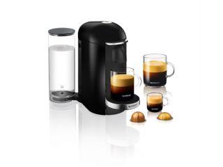Nespresso By De longhi Env150b Vertuo Plus Coffee And Espresso Machine Ink Black