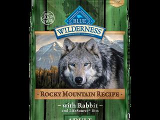 Blue Buffalo Wilderness Grain Free Rocky Mountain Recipe with Rabbit Adult Dry Dog Food   22lbs