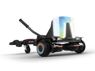 Jetson light up Extreme Terrain Hoverboard Jetkart Combo Model Jforce blk
