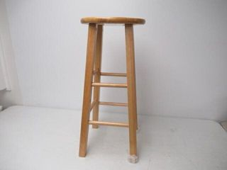 As Is  Solid Wood Stool