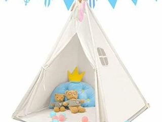 Kids Teepee for Girl and Boy with Mat  lights