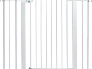 Safety 1st Tall and Wide Easy Install Gate  White