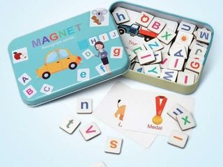 Coogam Wooden Magnetic letters and Numbers Toys