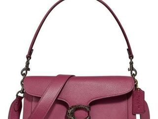 Coach Signature leather Camera Bag  Pink