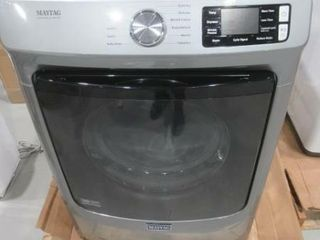 As Is  Maytag 7 3 cu  ft  Front load Electric