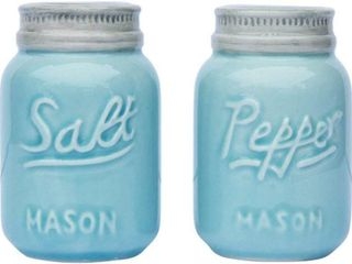 Vintage Mason Jar Salt   Pepper Shakers by Comfify
