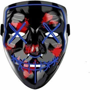 Halloween lED light Up Mask Specially Designed for