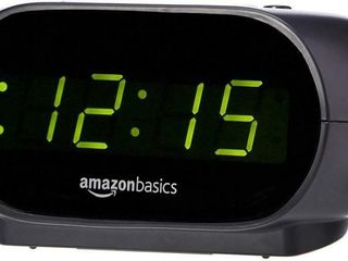 Small Digital Alarm Clock with Nightlight and