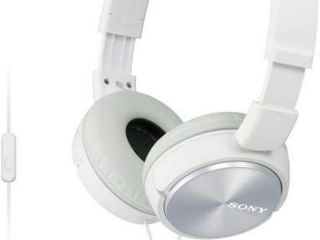 SONY MDR ZX310AP On Ear Headphones with Microphone