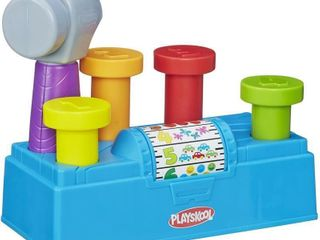 Playskool Tap  n Spin Tool Bench Activity Toy
