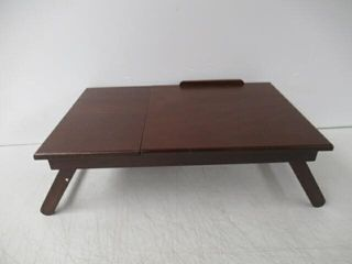 As Is  Winsome Wood Alden lap Desk  Flip Top with