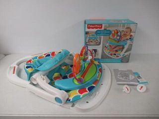 Used  Fisher Price Deluxe Sit Me Up Floor Seat