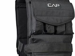 CAP Barbell Adjustable Weighted Vest  60 lb
