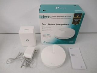 As Is  TP lINK  Deco M5  Whole Home Mesh Wi Fi