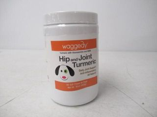 waggedy Advanced Hip and Joint Turmeric  Dog