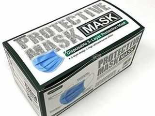 Remax 50 Pk 3 layer Face Cover Mask